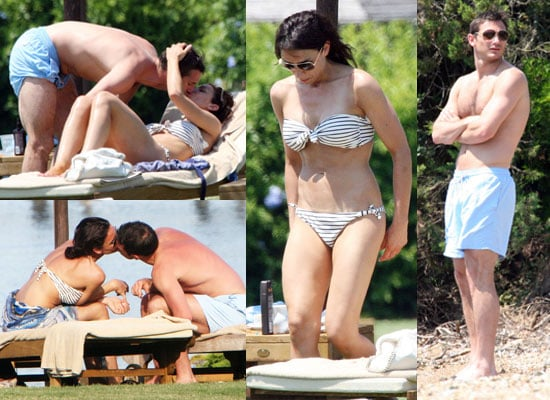 Pictures of Frank Lampard and Christine Bleakley Kissing on Holiday in Sardinia With Redknapps Engagement Ring Rumours Denied
