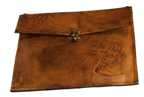 Doctor Who Leather iPad Case ($120)