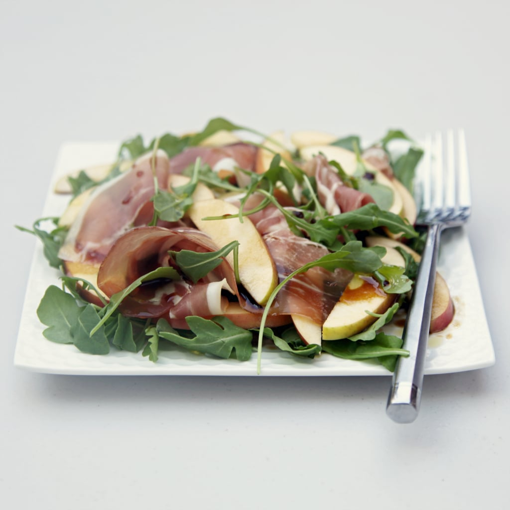 Speck Salad With Apples and Arugula