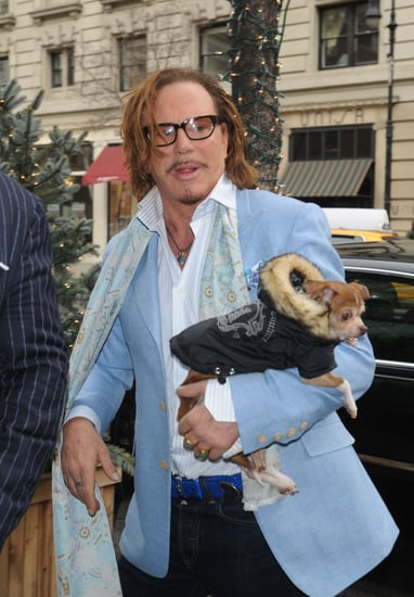 Mickey Rourke's Beloved Pet Chihuahua Loki Died