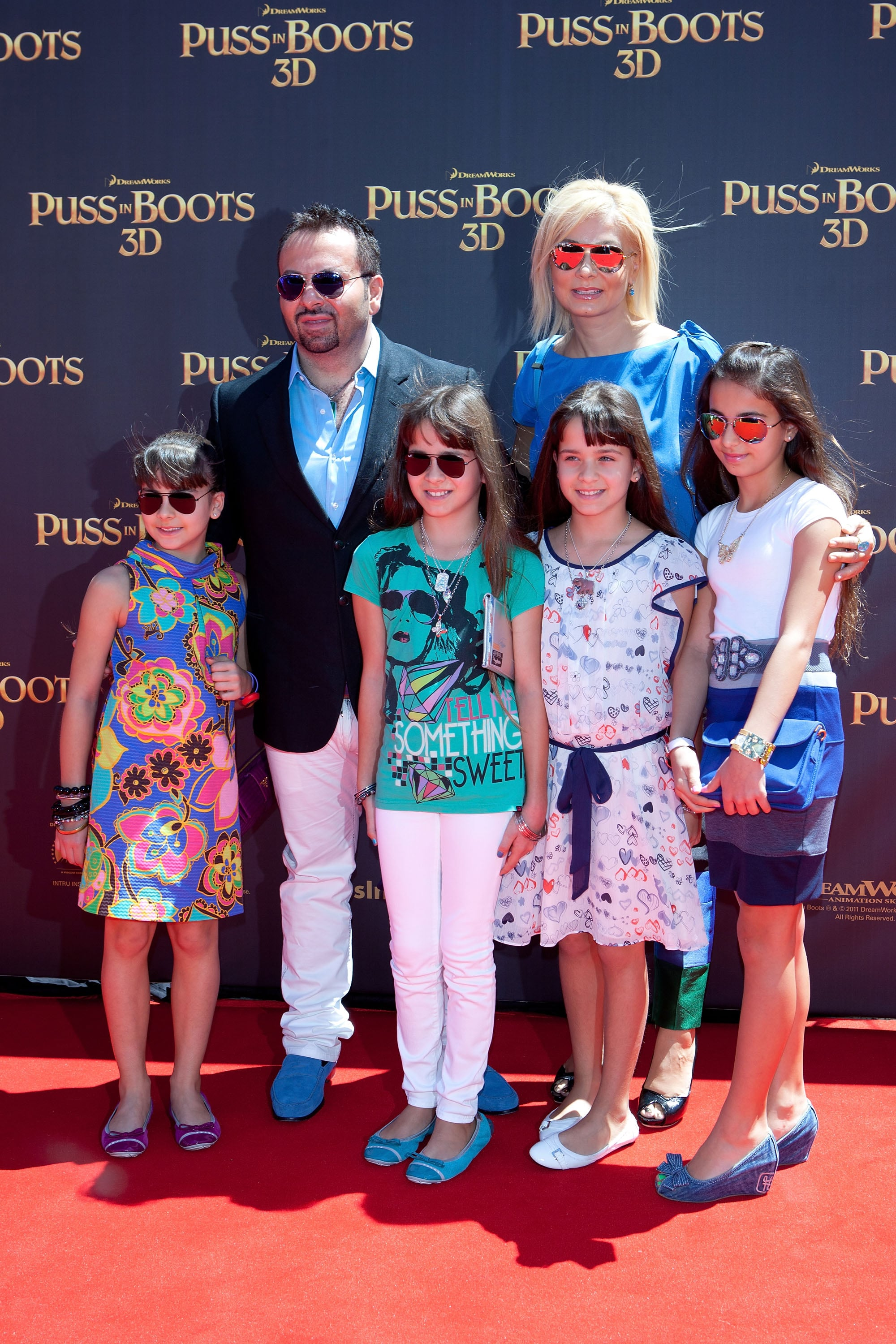 Napoleon Perdis and Family