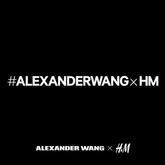 H&M Alexander Wang Collaboration News on Instagram