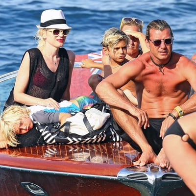 Celebrity Vacation Pictures 2013