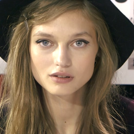 Backstage at Zadig & Voltaire
