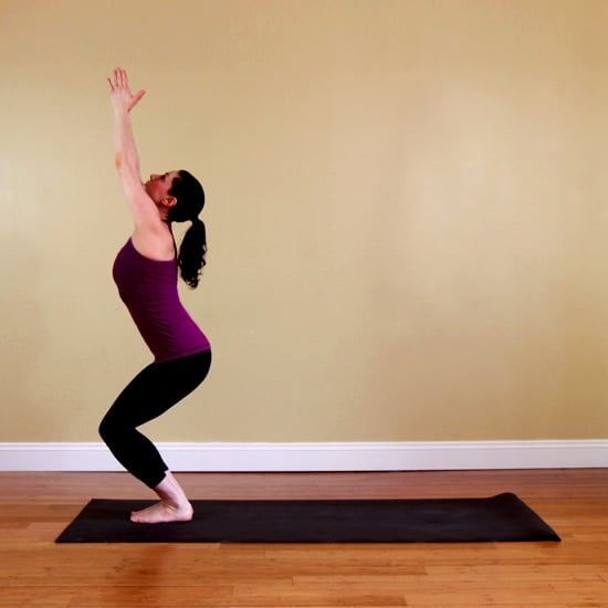 How to Do Fierce Pose in Yoga, Also Called Chair Pose