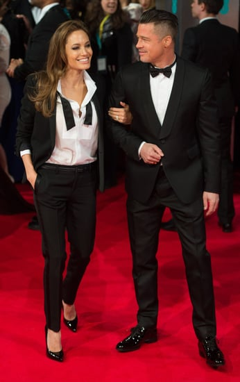 Angelina-Jolie-Brad-Pitt-wore-matching-tuxedos-when-attended