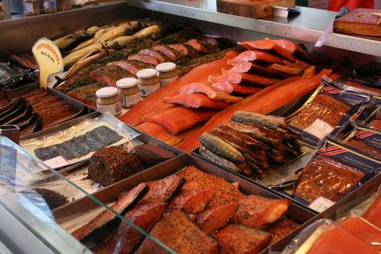 Savory Sight: Norwegian Fish Market