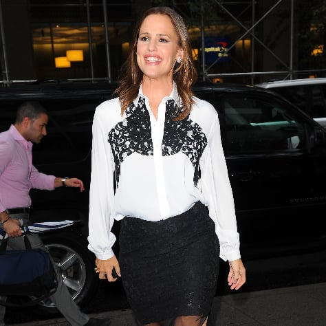 Jennifer Garner at Odd Life of Timothy Green in NYC Pictures