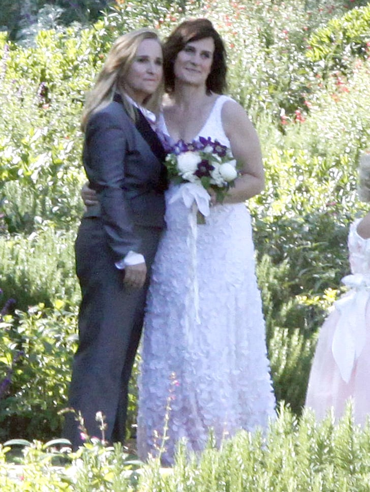 Melissa and Linda posed for photos.