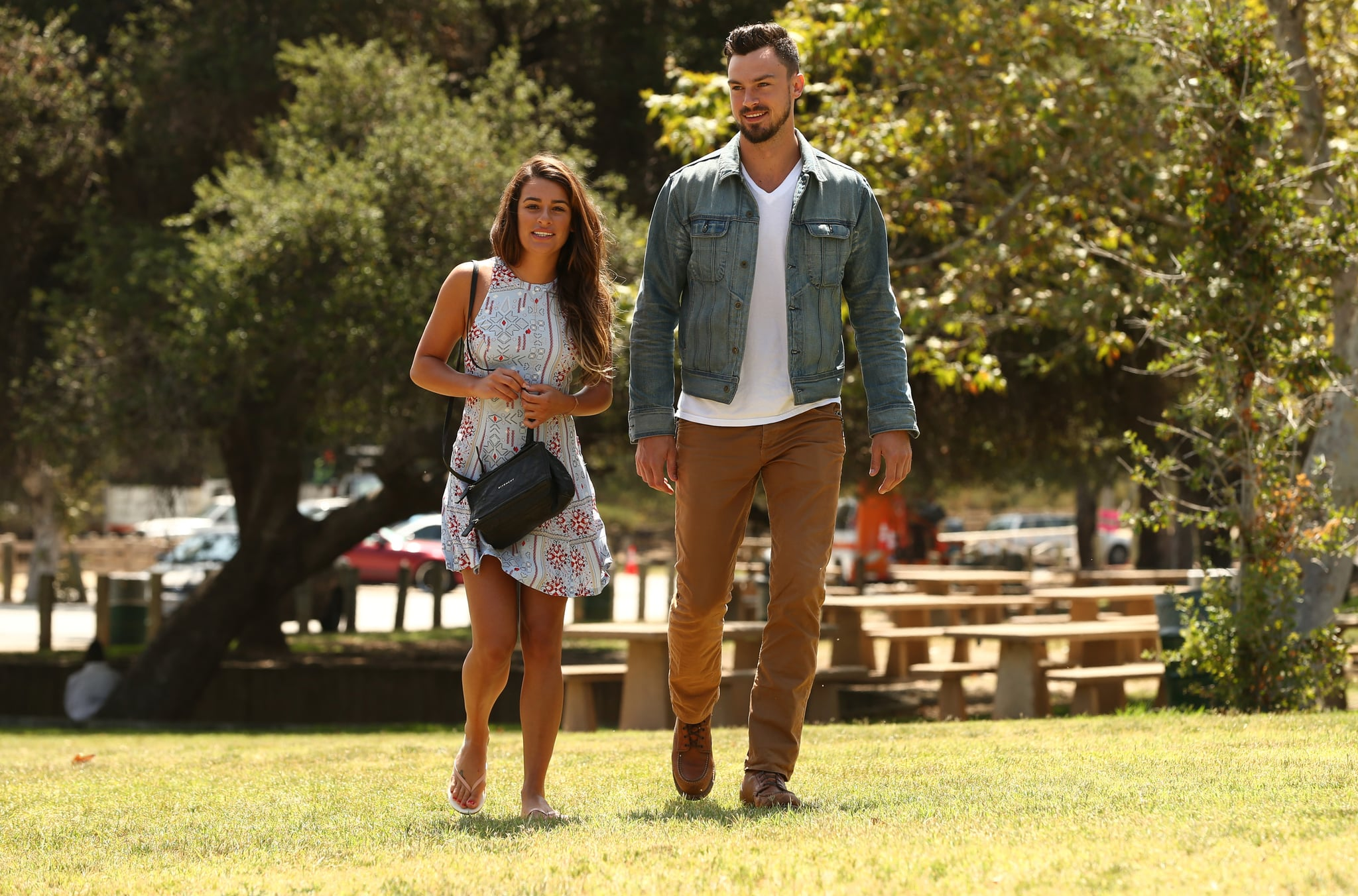 Lea Michele and Her New Boyfriend Have That Look of Love