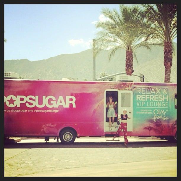 Hello, Coachella!  Source: Instagram user kelbel147