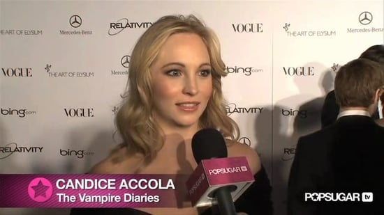 Video of Candice Accola Talking The Vampire Diaries at Art of Elysium Gala