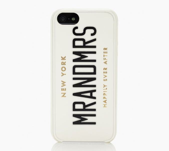 Kate Spade Mr. and Mrs. iPhone 5 Case