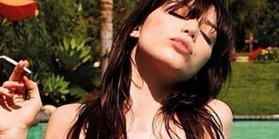Daisy Lowe Shares #TBT Photo From Playboy Shoot