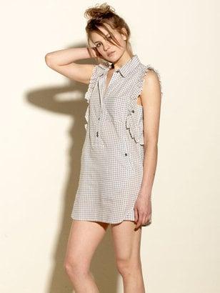 Quiksilver Gingham Shirt Dress