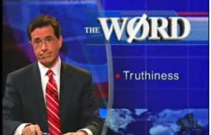 "Merriam-Webster's Word of 2006: ""Truthiness"""