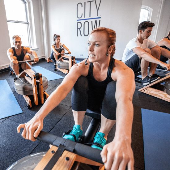 High-Intensity Interval Rowing Workout