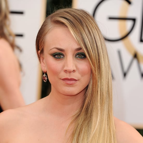Kaley Cuoco's Makeup by Mark Cosmetics   Golden Globes 2014