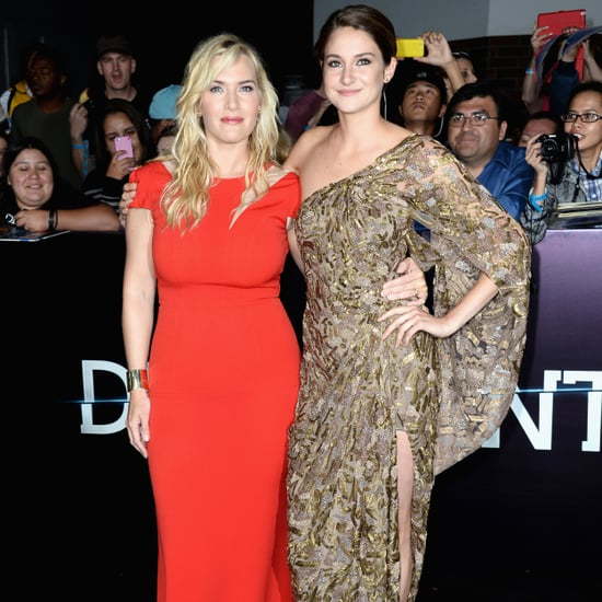 Kate Winslet and Shailene Woodley Divergent Premiere Dresses