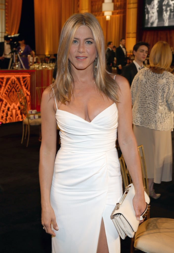 Jennifer Aniston attended the AFI Life Achievement Award dinner honouring Shirley MacLaine in LA.