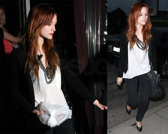 Photos of Ashlee Simpson Out in LA After Supposed Fight With Michelle Trachtenberg