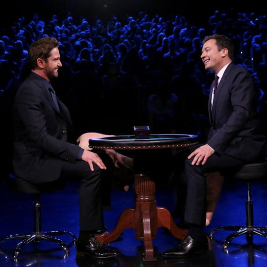 Gerard Butler Plays Slapjack With Jimmy Fallon February 2016