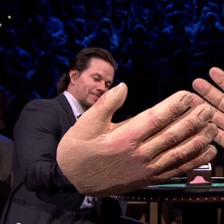 Mark Wahlberg and Jimmy Fallon Playing Slapjack | Video