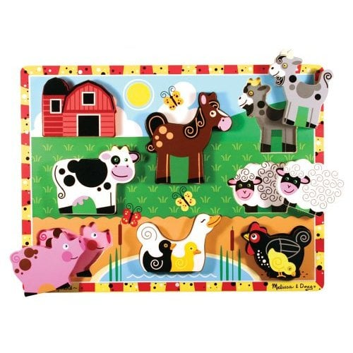 Toy Box: Melissa and Doug's Chunky Puzzles