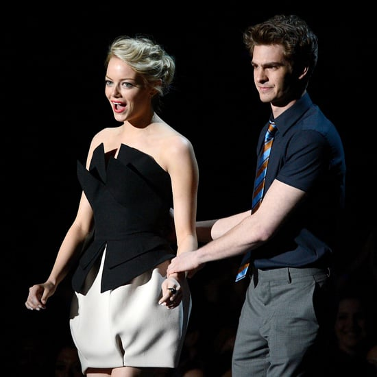 Emma Stone and Andrew Garfield Pictures at MTV Movie Awards