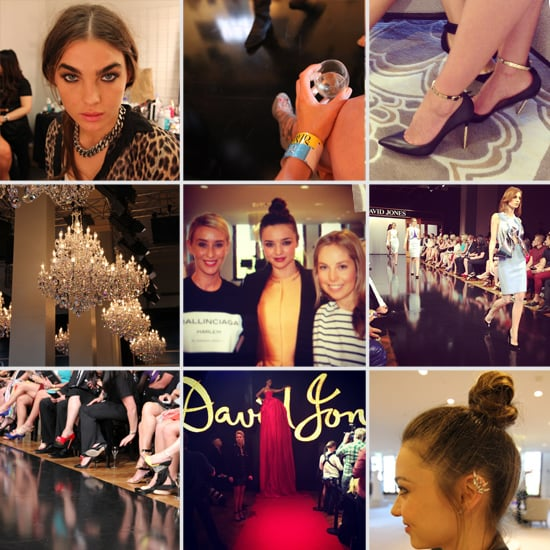 Your Backstage Pass to the David Jones Fashion Launch