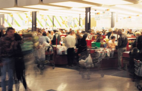 Do You Mind Shopping in a Crowded Grocery Store?