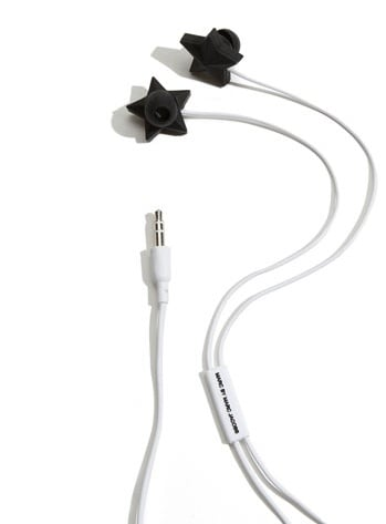 """Marc by Marc Jacobs """"Star"""" Ear Buds"""