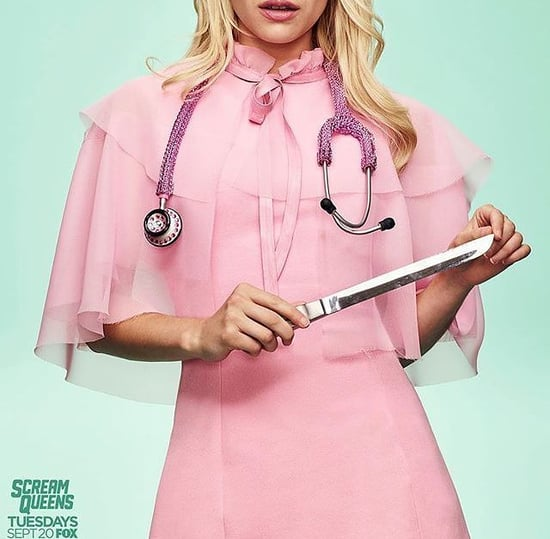 "Get Excited: Emma Roberts Posted New ""Scream Queens"" Photos"