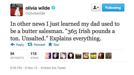 Olivia Wilde gets some answers.