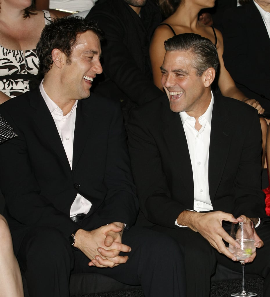 """George Clooney's secret was actually outed by Julia Roberts. Clive Owen was featured in the March 2009 issue of Esquire. The article mentions that Julia spoke candidly about the relationship between George and Clive: """"George Clooney is obsessed with Clive . . . because he's English, because his successes have stood on the shoulders of his talents alone, because he hasn't just been carried away by popular culture."""" Clive mentioned in an interview that he reciprocates:  """"Well, I've got a bit of a crush on George Clooney . . . I think he's great."""""""