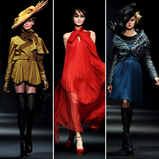 Review and Pictures of John Galliano Autumn Winter 2012 Paris Fashion Week Runway Show