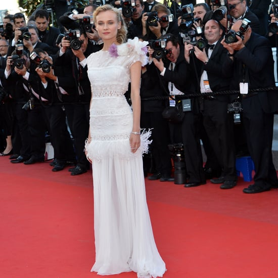 Diane Kruger Wears White 3 Times in Cannes