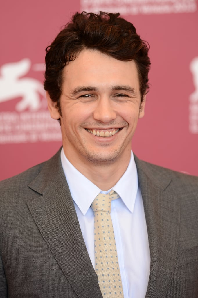 James Franco was all smiles at the Venice Film Festival.