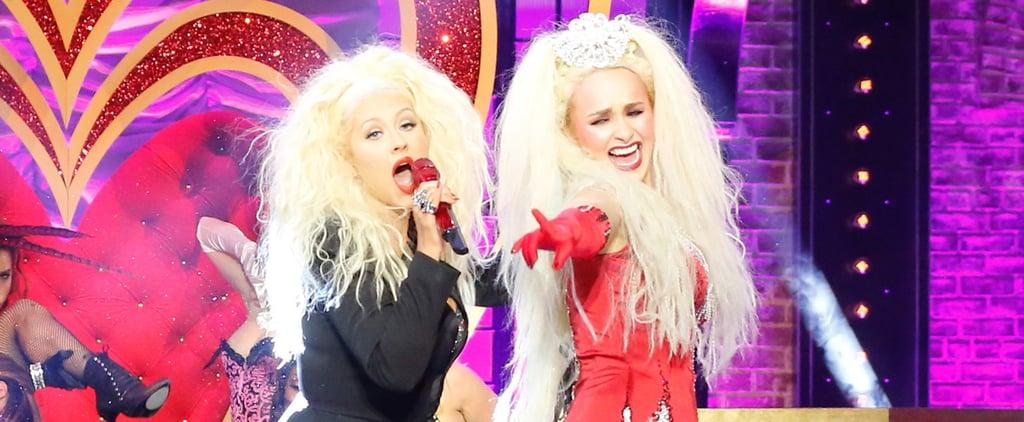 "Even the Real Christina Aguilera Can't Beat Eva Longoria's ""Anaconda"" on Lip Sync Battle"