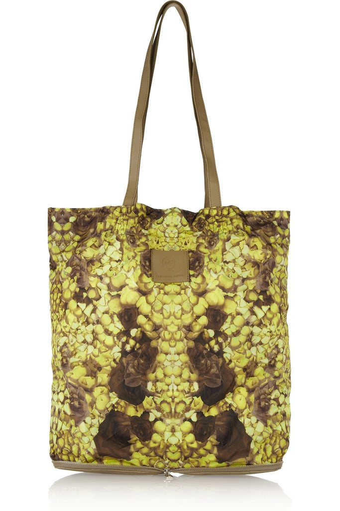 Throw away whatever boring reusable totes you've accumulated over the years in favor of this bright McQ Alexander McQueen pick ($153, originally $305).