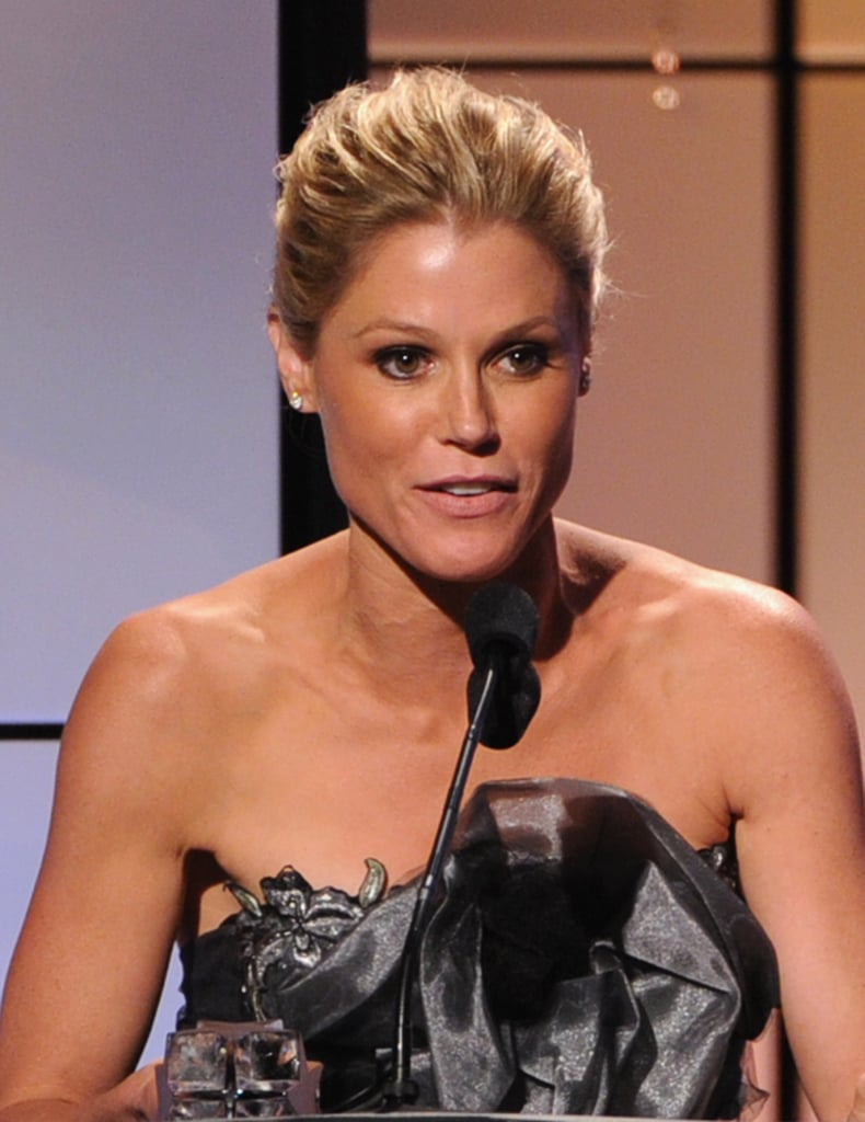 Julie Bowen took the stage at the Critics' Choice Television Awards in LA.