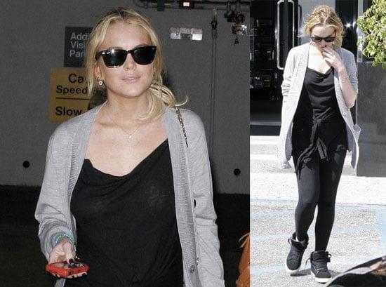 Lindsay Lohan Fights with Ashley Olsen