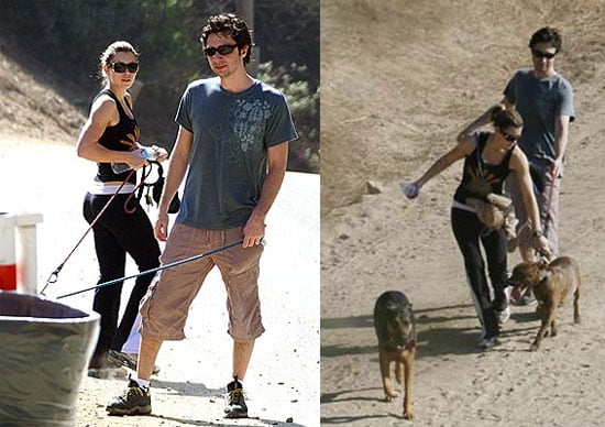 Jessica and Zach Go For a Walk