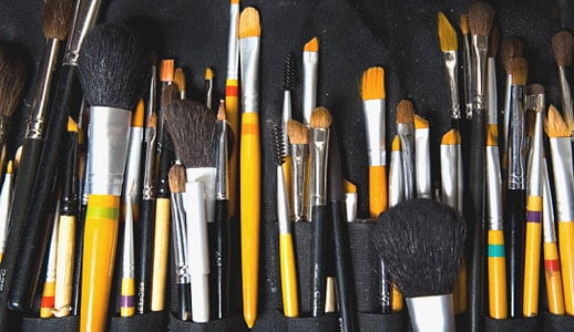 BellaSugar's Guide To Makeup Brush Hair Types