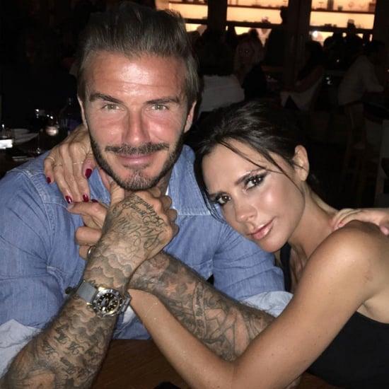 David Beckham's Sweet Birthday Instagram To Victoria