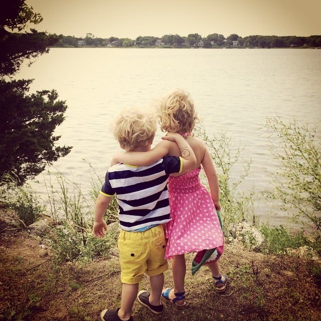 Gideon and Harper Burtka-Harris enjoyed their time out East together. Source: Instagram user instagranph