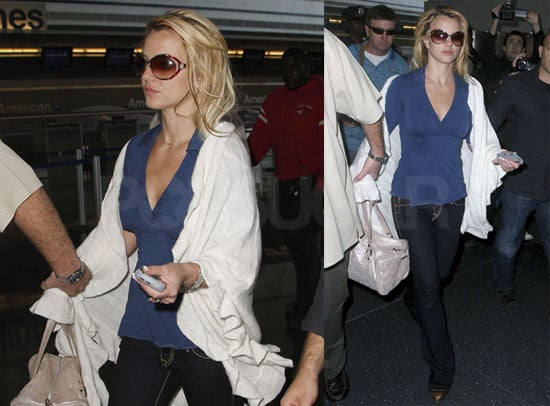 Photos of Britney Spears at JFK Airport