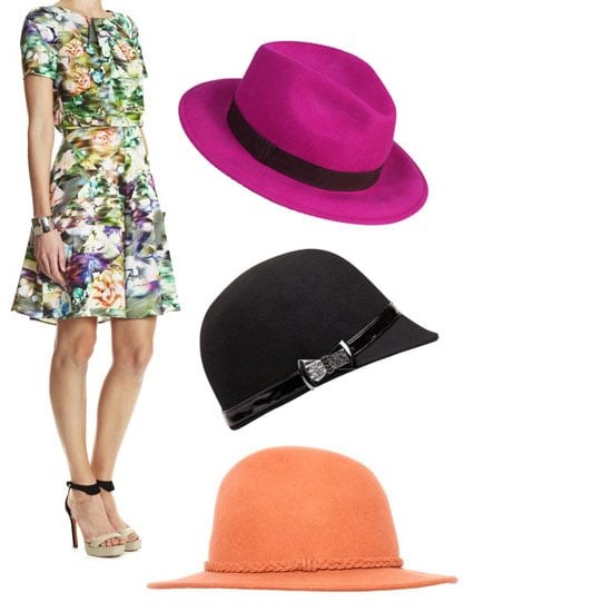 Race Day Shopping Guide for the 2012 AAMI Golden Slipper: Autumn-Appropriate Dresses and Hats from Lisa Ho, SABA, Sheike & more