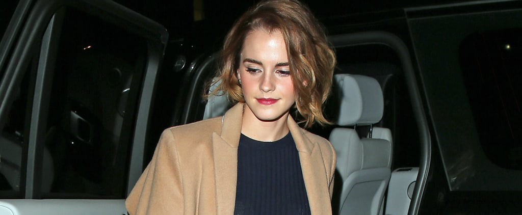 Emma Watson's Sparkly Handbag Is So Brilliant, We Wish It'd Apparate Into Our Wardrobes