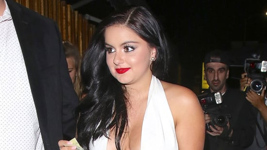 Ariel Winter Flashes Tiger Tattoo in Skimpy, Cleavage-Baring Style